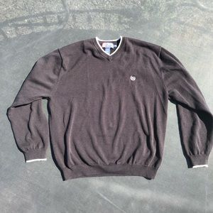 Vintage Chaps black pullover sweater